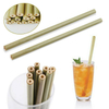 Organic Natural Reusable Biodegradable Bamboo Drinking Straws