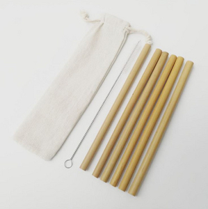 Bamboo Drinking Straws Compostable