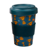 100% Biodegradable Ecofriendly with Lid And Sleeve Bamboo Fiber Coffee Cups Bamboo Mugs