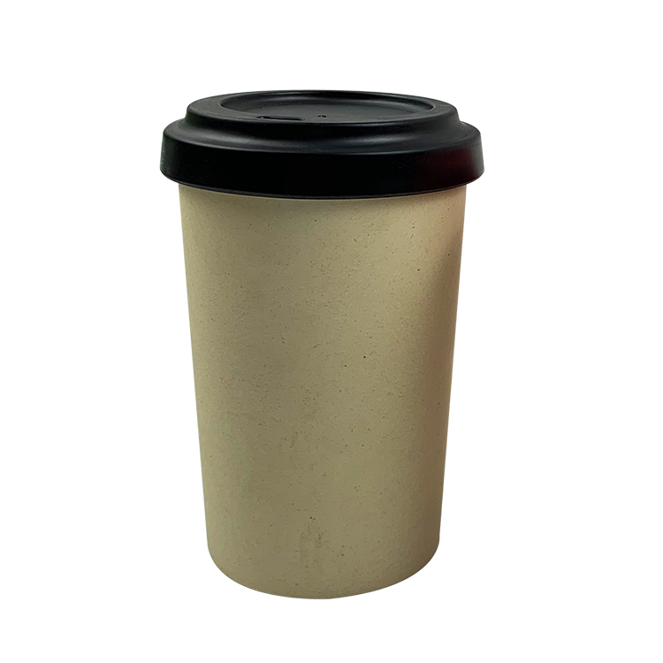 2019 Biodegradable Nature Reusable Eco Friendly Bamboo Fiber Coffee Mug