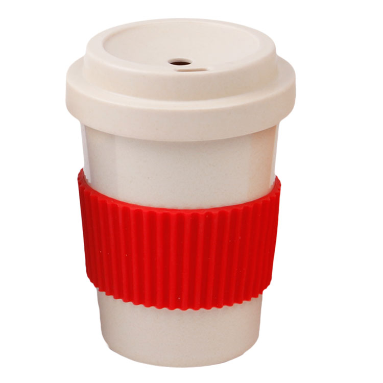Custom Sustainable And Biodegradable LFGB FDA Approved Bamboo Fiber Cups