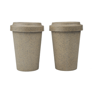 COFFEE HUSK Sustainable and Biodegradable Bamboo Fiber cups Wholesale