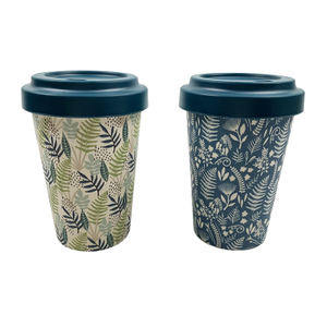 Custom Different Sizes Bamboo Fiber Ecoffee Cup Eco Friendly Bamboo Fiber Coffee Cups