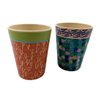 Eco Friendly Customize Coffee Mug Bio Bamboo Fiber Mug Cup with Cover