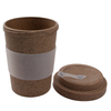 Bamboo Reusable Coffee Travel Mug With Lid