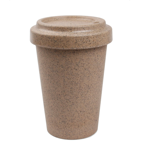 Wholesale 100% Natural without Lid Rice Husk Mugs Coffee Cups