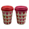 Environmental Affordable Wheat Fiber Mugs Bamboo Fibre Coffee Cups