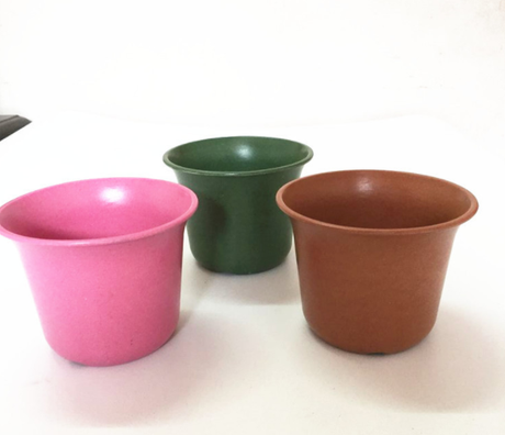 COOL biodegradable and reusable bamboo planter