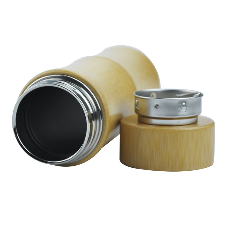 Vacuum Insulated Original Bamboo Tumbler with Tea Infuser & Strainer