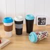 100%Biodegradable Eco-Friendly Bamboo spill Coffee Cup Bamboo Dinner Set Customizable Mug 600ml